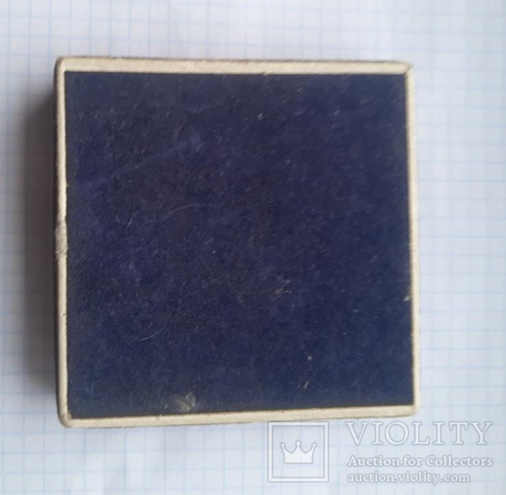Настольная медаль СССР в коробке, фото №6