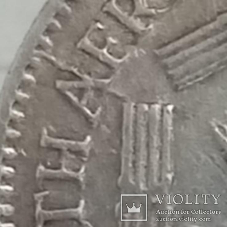 6 пенсов 1942г серебро (трещины штампа) Брит. Южная Африка, фото №5
