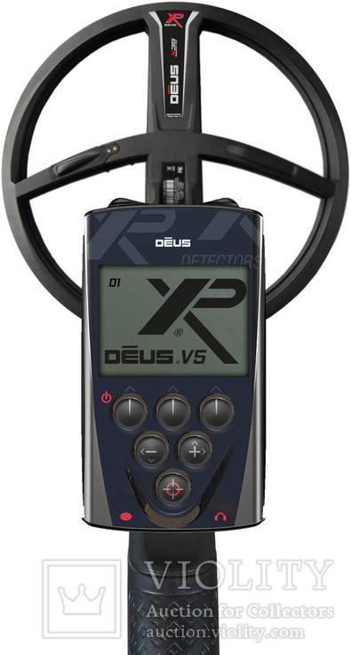 Металлоискатель XP Deus 22 Х35 RC WS4, фото №4