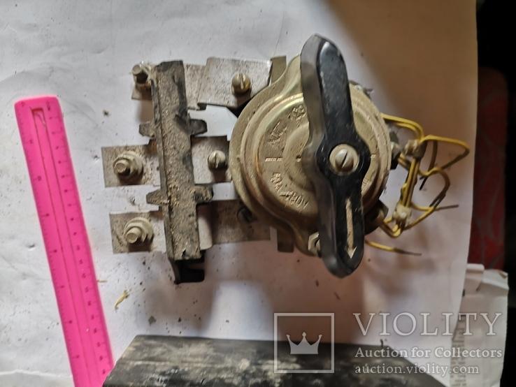 Выключатели СССР автоматы для станка уборка гаража, фото №4