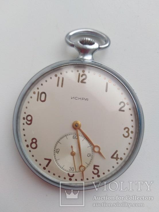 Часы искра