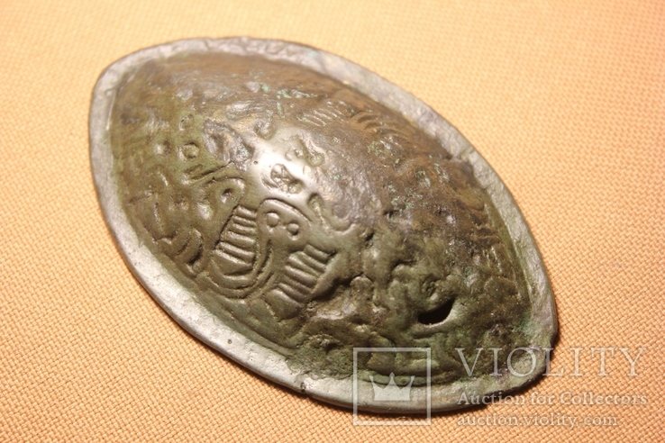 Фибула -черепаха  скандинавская 9-10 век