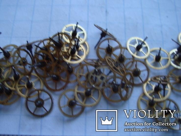 Колесико к часовому механизму 70 шт., фото №5