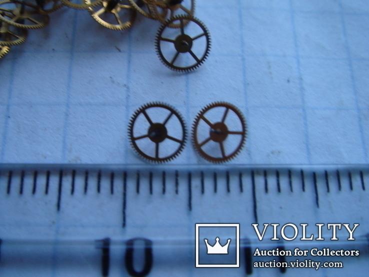 Колесико к часовому механизму 24 шт., фото №3