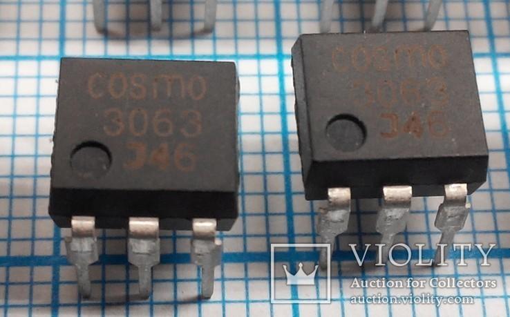 287 Оптосимисторы COSMO 3063 12шт., фото №3