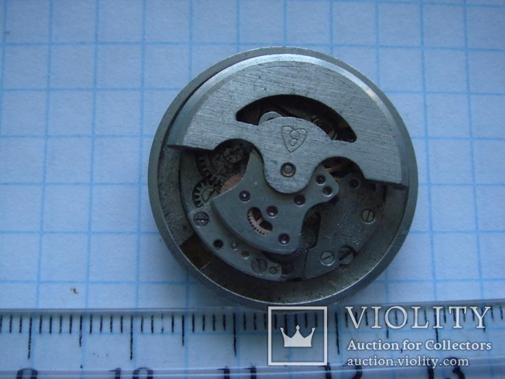 Механиз с циферблатом к часам Зоря. автомат, фото №5