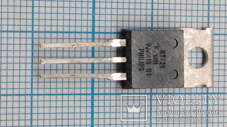 286 Симисторы ВТ139-600 9шт., фото №3