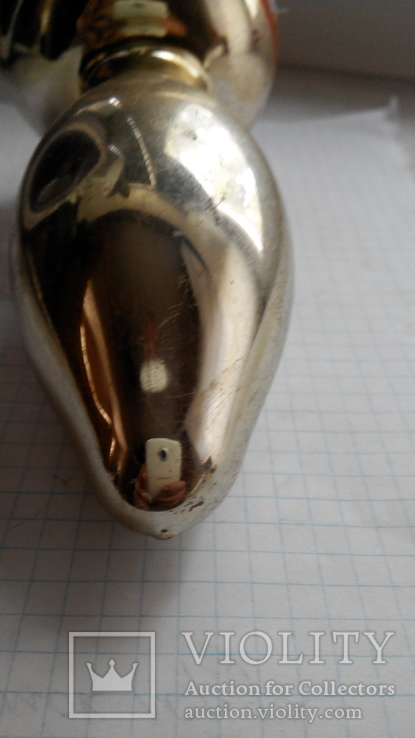 Елочная игрушка - грибок, СССР., фото №6