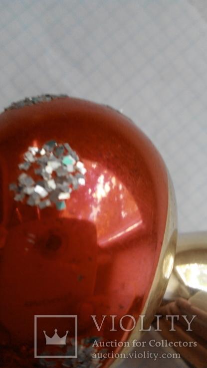 Елочная игрушка - грибок, СССР., фото №9