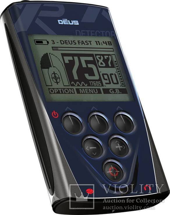Металлоискатель XP Deus 24x13 HF RC WS5, фото №3
