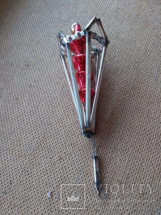 Ёлочная игрушка из стекляруса СССР, фото №10