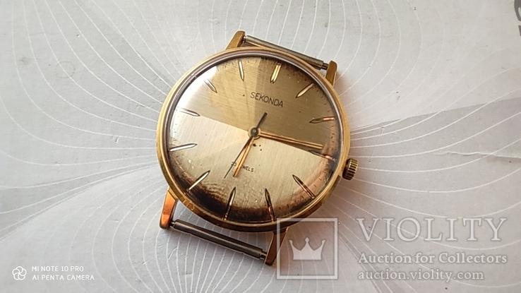 Часы Sekonda (Луч).позолота Au10