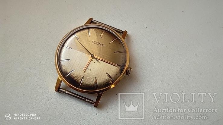 Часы Sekonda (Луч).позолота Au10, фото №6