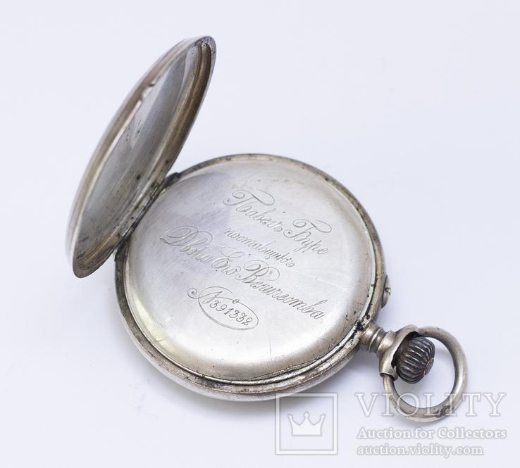 """Часы """"Павел Буре"""", серебро 84 пробы, фото №2"""