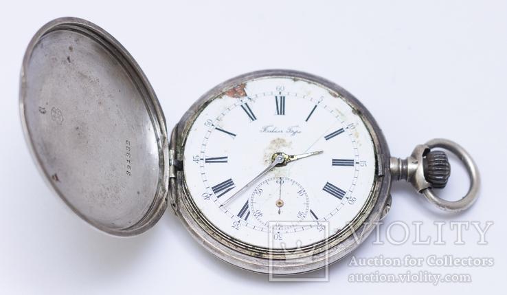 """Часы """"Павел Буре"""", серебро 84 пробы, фото №4"""