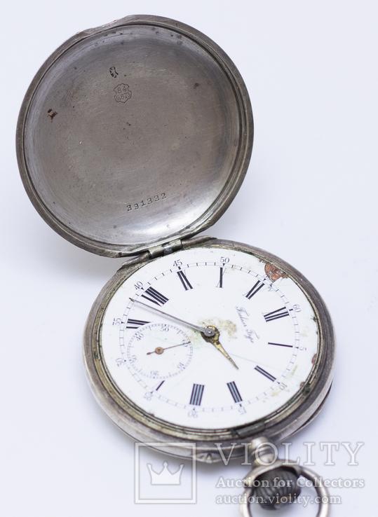 """Часы """"Павел Буре"""", серебро 84 пробы, фото №5"""