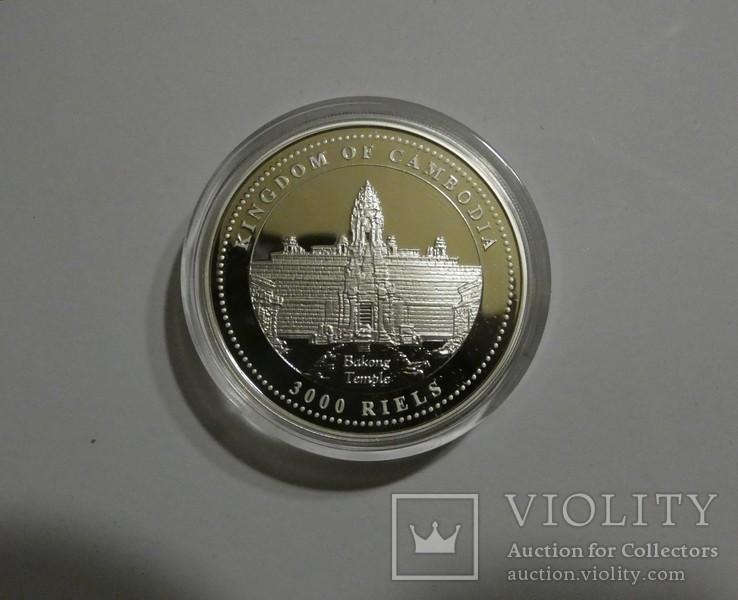 Год Свиньи - серебро 999, унция. С сертификатом., фото №4