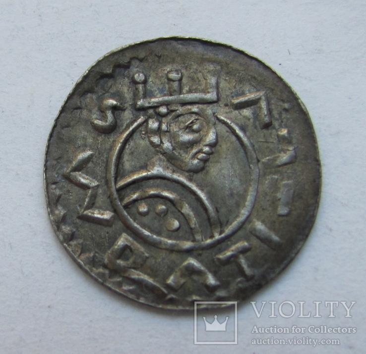 Денарий Вратислава II.(1061-1092)