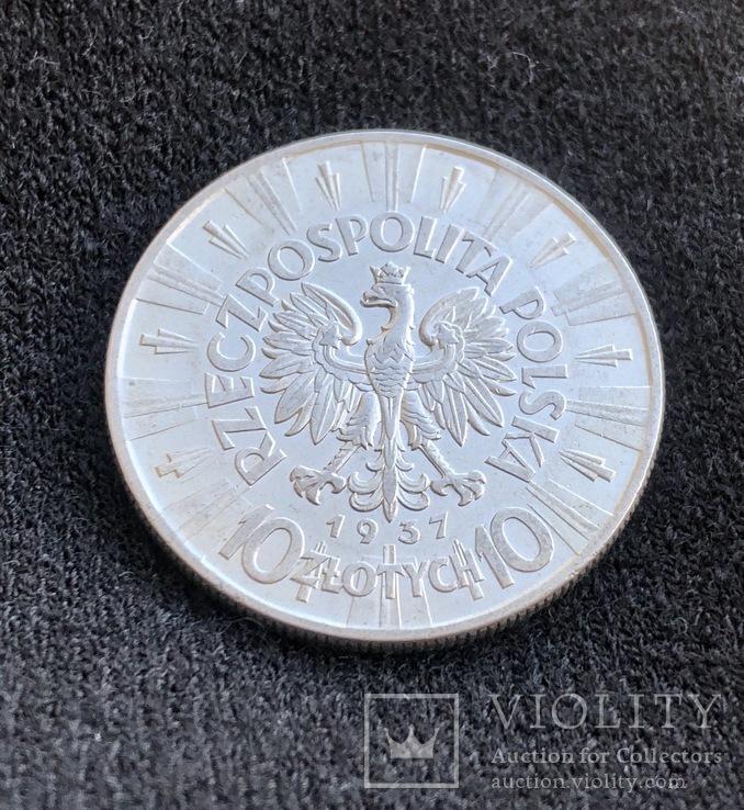 10 Злотих 1937, фото №4