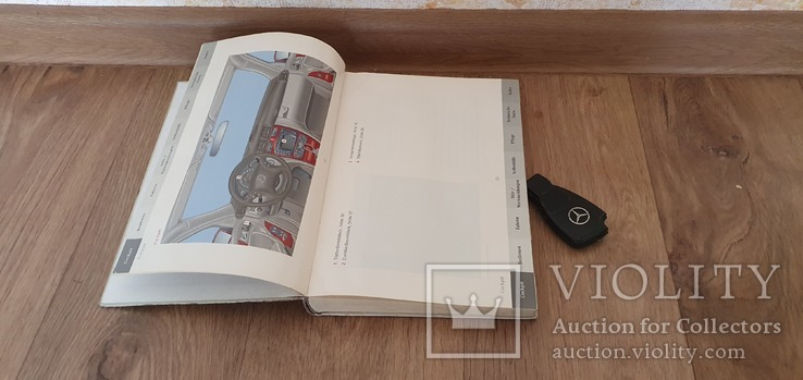 Инструкция по эксплуатации Mercedes c klass W203, фото №3