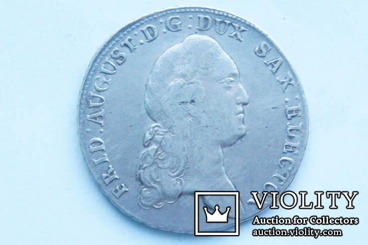 Талер 1783 р. Саксонія, фото №2