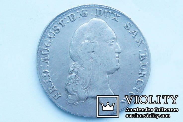 Талер 1783 р. Саксонія, фото №3
