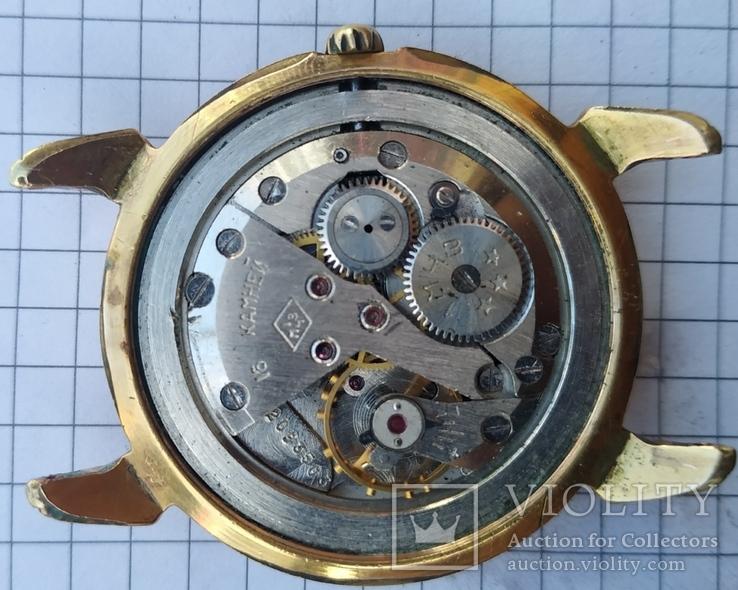 """Часы """"Poljot"""", 16 камней, золото 20м, фото №3"""