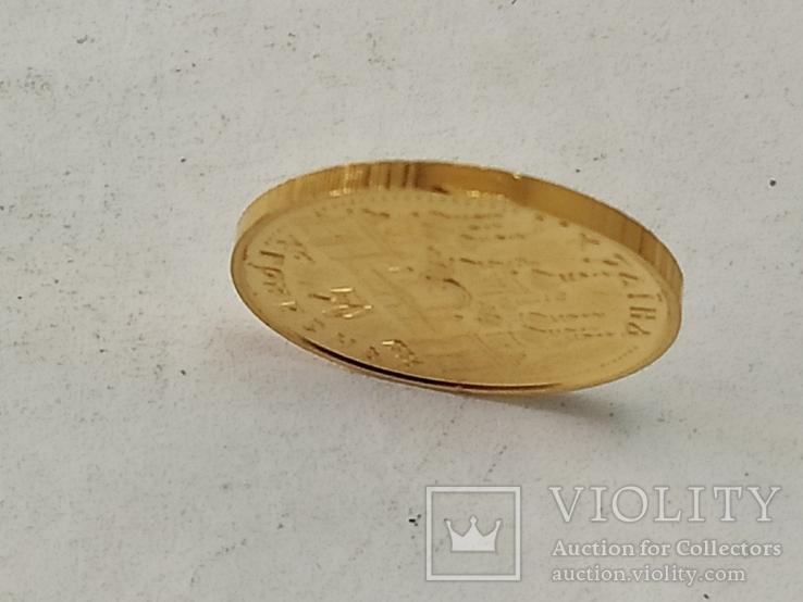 Оранта. 50 гривень 1996. Золото., фото №5