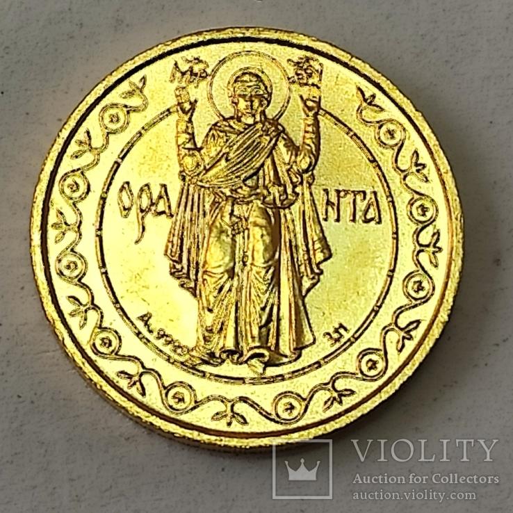 Оранта. 50 гривень 1996. Золото., фото №11