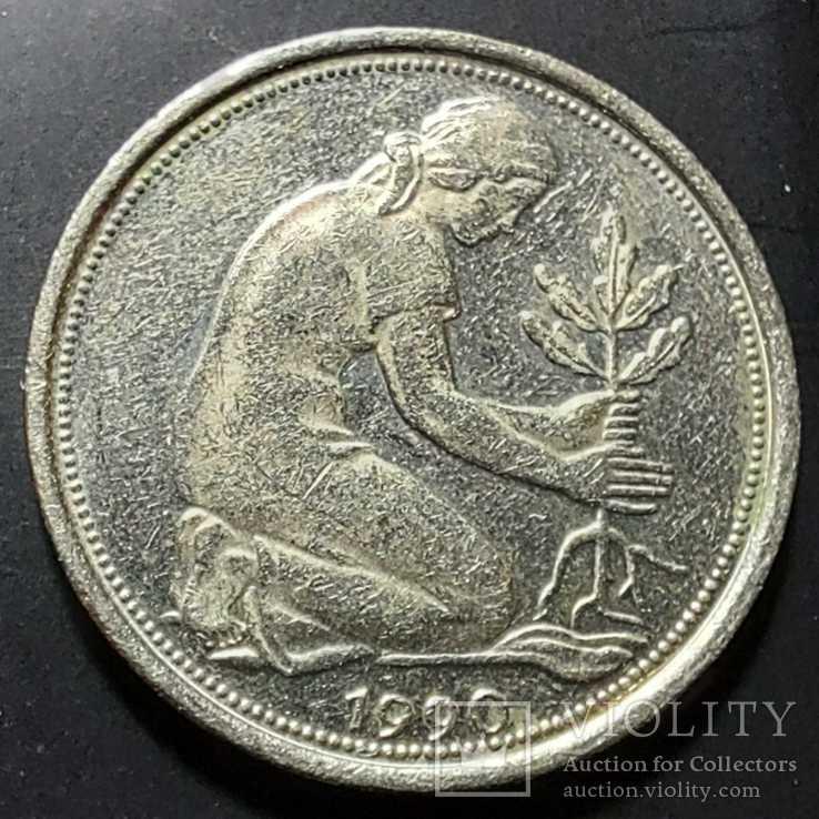 ФРГ. 50 пфеннигов 1990г. A (монетный двор Берлина), фото №3