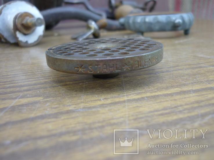 """Мясорубка  REMSCHEID """"Alexander Werk"""" (клейма на ножах), фото №10"""