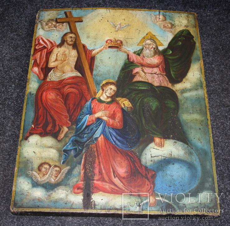 Икона Коронация   54х42, фото №2