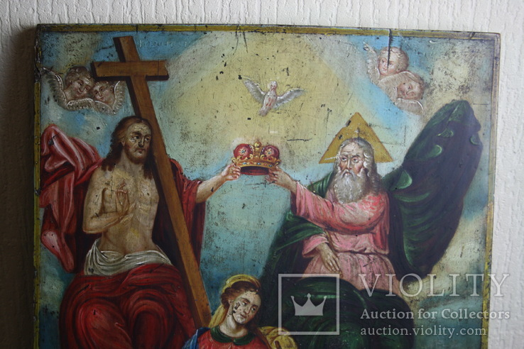 Икона Коронация   54х42, фото №4