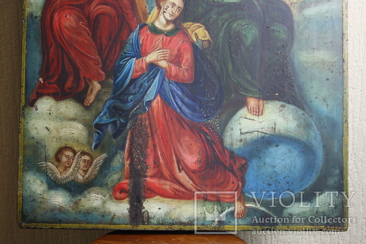 Икона Коронация   54х42, фото №5