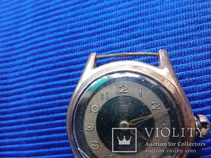 Часы старые Clometta HB  в ремонт на запчасти, фото №2