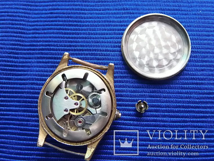 Часы старые Clometta HB  в ремонт на запчасти, фото №4