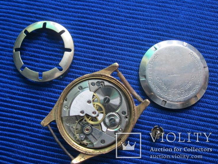 Часы старые Clometta HB  в ремонт на запчасти, фото №8