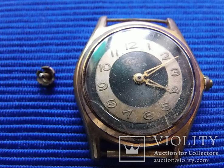 Часы старые Clometta HB  в ремонт на запчасти, фото №11