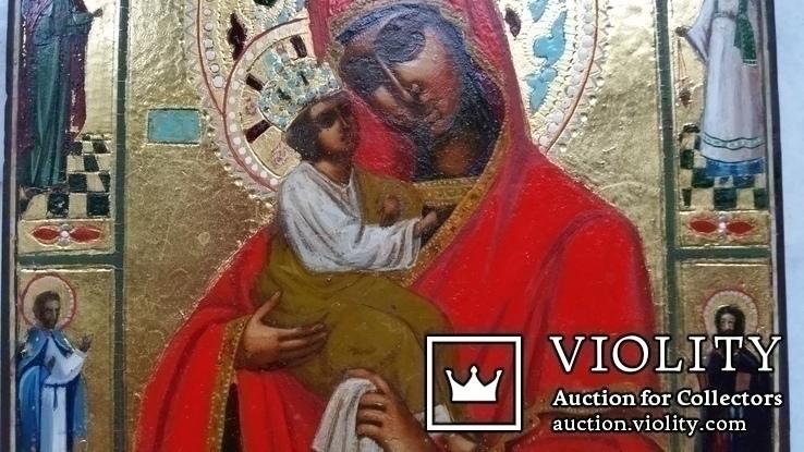 Ікона Почаївська Богоматір, 22,2х17,3х2,2, фото №4
