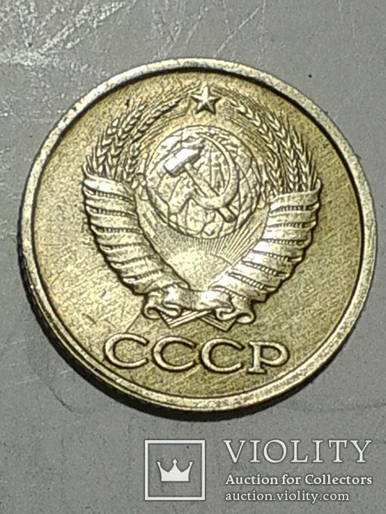 1 копеика 1990 г. трещина верхнего и нижнего штампа, фото №4