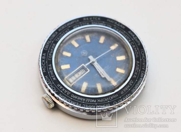 Часы Ракета города, фото №4