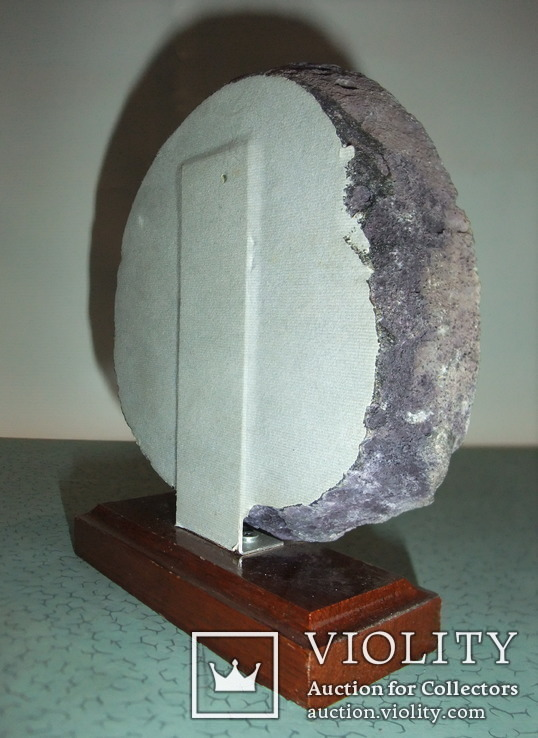 Агат полированный срез - жеода., фото №7
