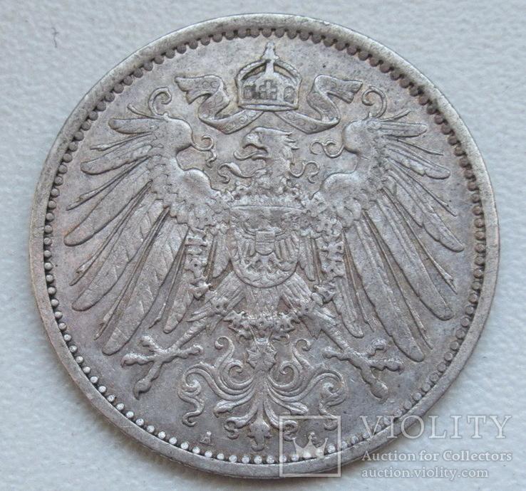 1 марка 1899 г. (А) Германия, серебро, фото №5