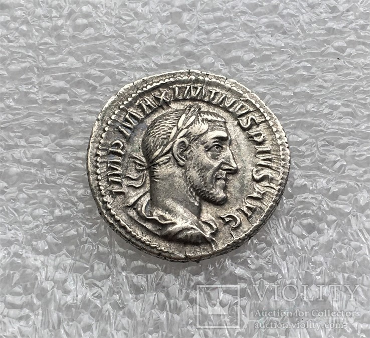 Максимин Фракиец денарий RIC 13