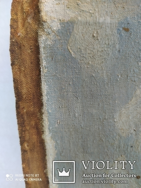 2 картины холст-масло одним лотом. Копии., фото №6