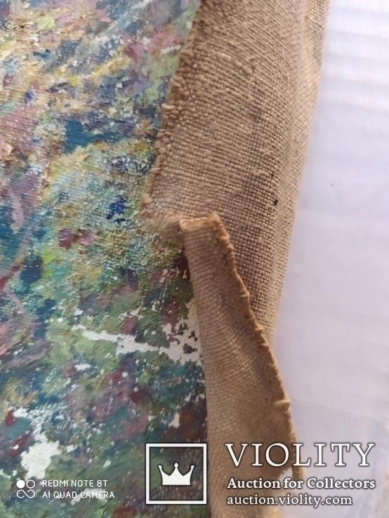 2 картины холст-масло одним лотом. Копии., фото №11
