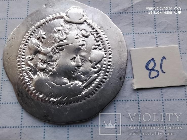 Сасанидские цари,Кават 1 488-531 в.н.э.Драхма.