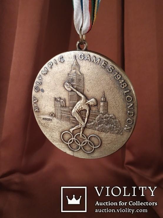 Олимпиада в Лондоне 1948 год/Медаль/Копия, фото №2