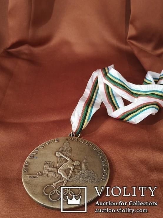 Олимпиада в Лондоне 1948 год/Медаль/Копия, фото №6