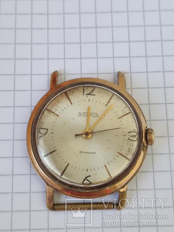 Годинник в позолоті  Ау 20
